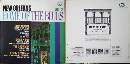 NEW ORLEANS HOME OF THE BLUES VOL 2 - MINIT LP-0004