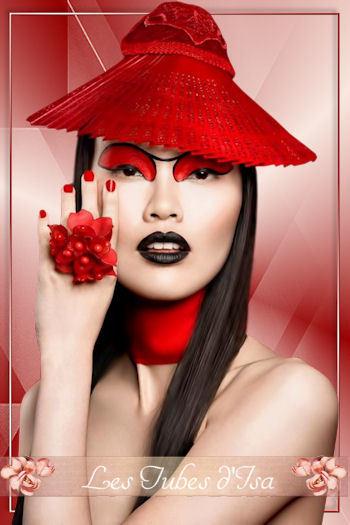FAC0105 - Tube femme chapeau