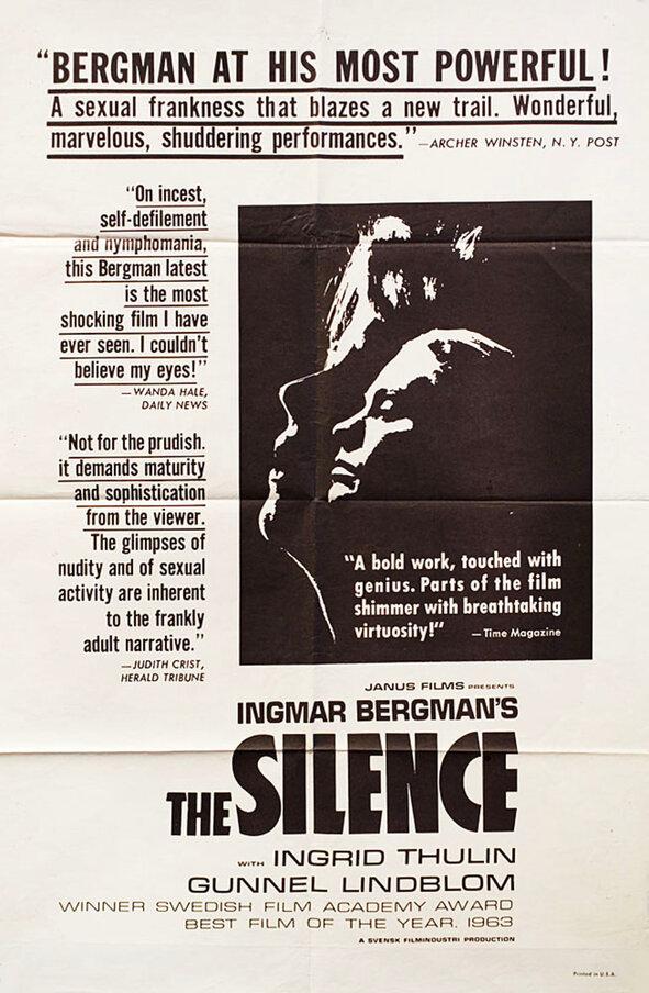 LE SILENCE BOX OFFICE USA 1964
