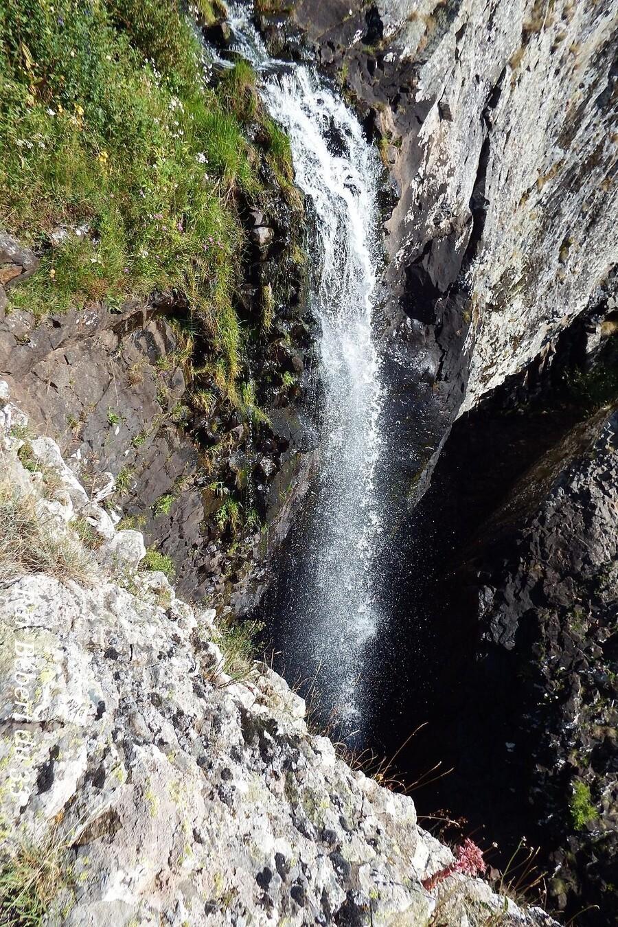 L'Aubrac - la cascade du Déroc