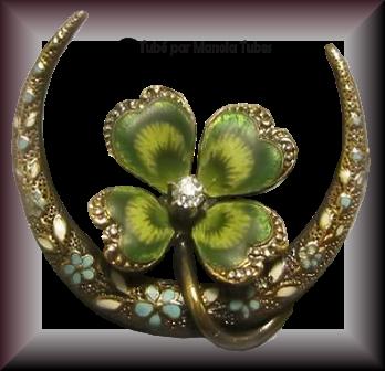 Tube bijoux St Patrick 2990