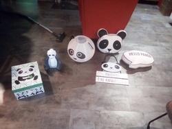 """la """"panda party"""" d'Amy"""