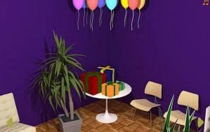Birthday surprise escape