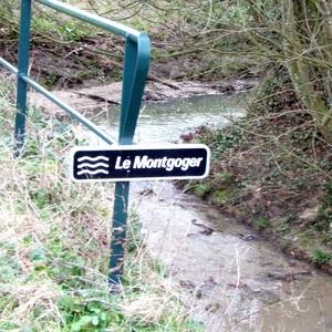 Le ruisseau, le Montgoger