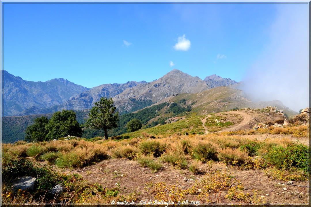 Balade au Col de Battaglia (Corse)