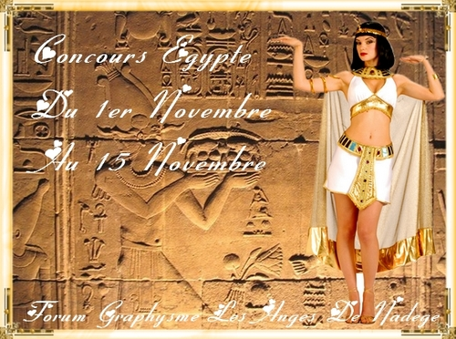 Concours Egypte