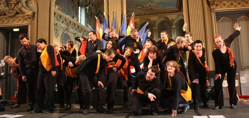 Chorale les Hurteloups,  Grand salon de la mairie de Nancy, 2010