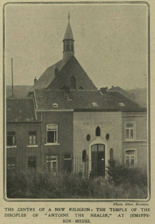 Temple de Jemeppe en 1910 (The Illustrated London News)