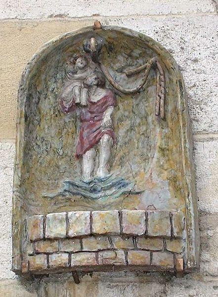 Prière de l'automobiliste à saint Christophe