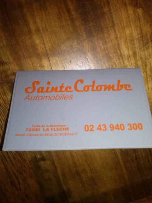 Sainte Colombe automobile