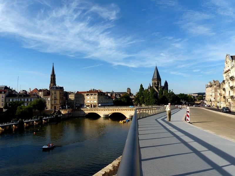 Metz / Plaisance en ville...