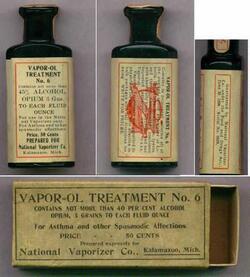 Médications (?) anciennes