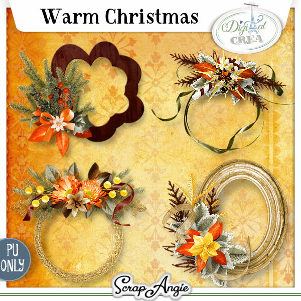 WARM CHRISTMAS by SCRAP'ANGIE