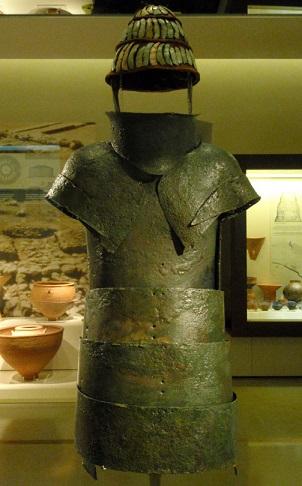 Le Mycénien n'était pas une mauviette ...