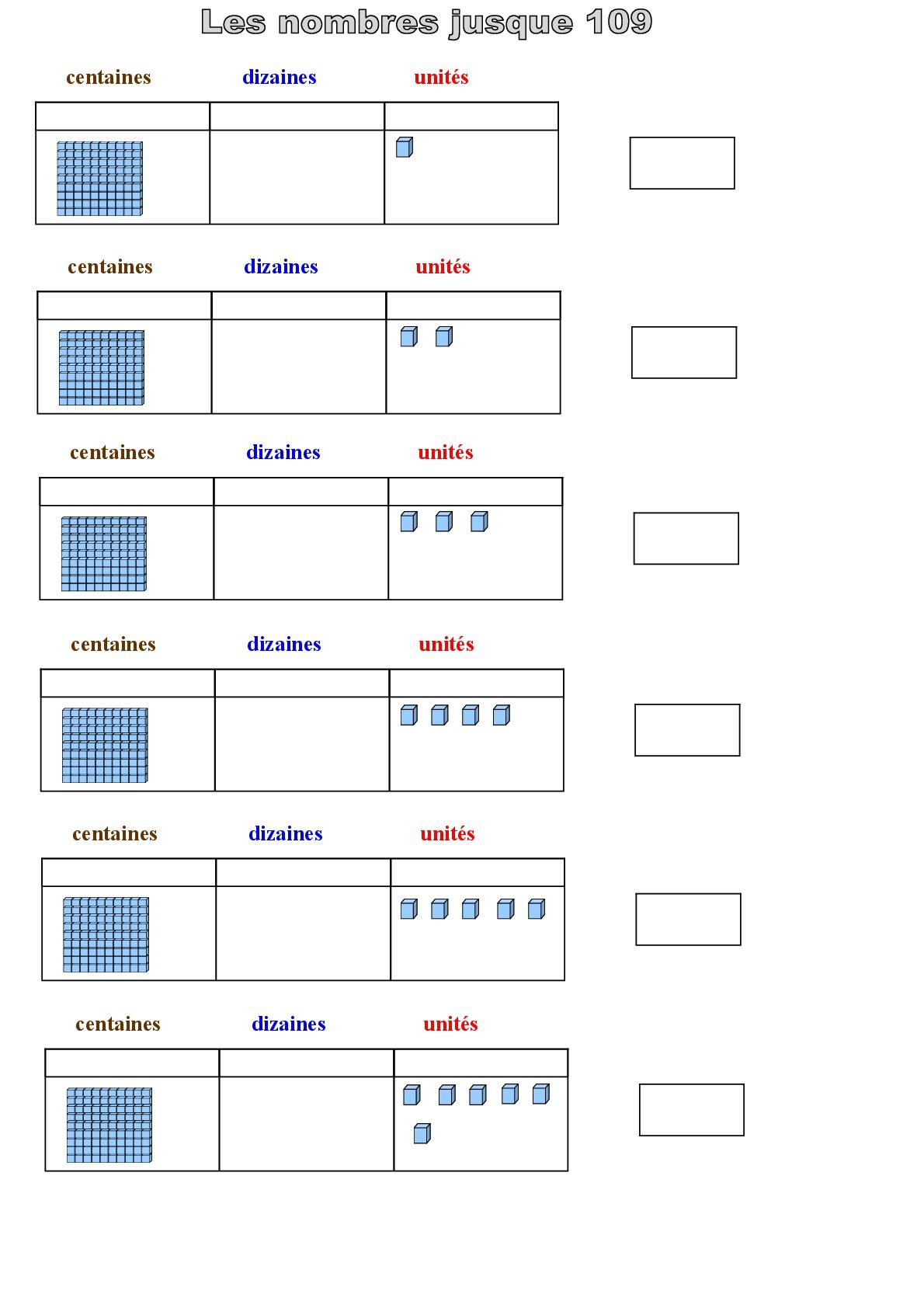 Numeration Lesnombres Au Cp Ce1 Ce2 Et Cycle 1 Prepecole Pour La Classe