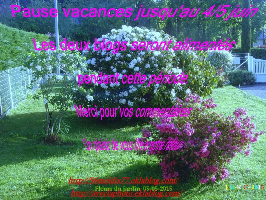 RECETTE DESSERT   14/05/2015  R