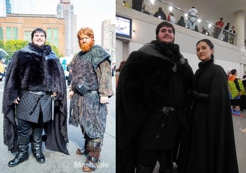 Les plus beaux cosplays de la Garde de Nuit