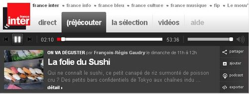 On va déguster ... des sushis
