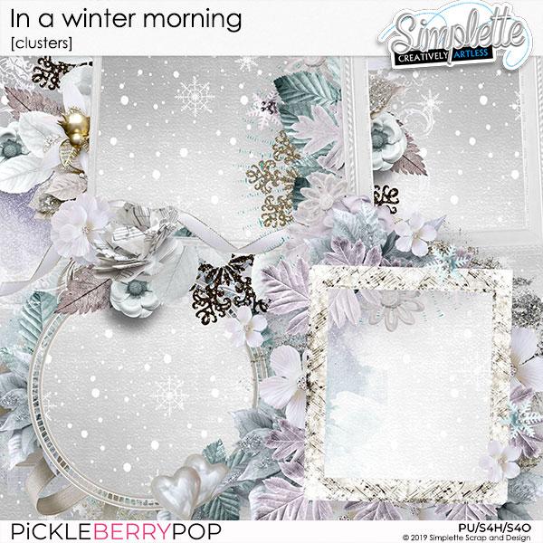 7 janvier 2020 : in a winter morning Simpl600