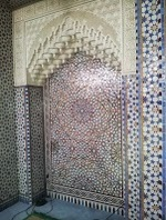 Mon quartier fin mai début juin 2013: grande mosquée, chateau d'eau bientot vodou, jardins partagés