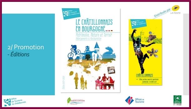 """""""Economie du Tourisme en Châtillonnais""""  une étude menée par le Conseil de Développement Economique et Social du Pays Chatillonnais avec l'Office du Tourisme du Pays Châtillonnais"""