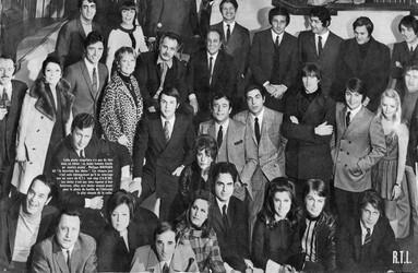 1968: Europe n°1, RMC, Radio-Luxembourg