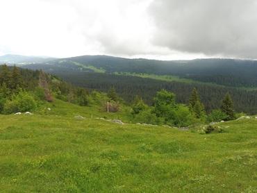 Vue depuis le Mont Sâla (1511 m)