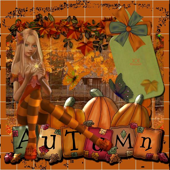 """Tutoriel """"Autumn"""" traduit chez Titoune"""