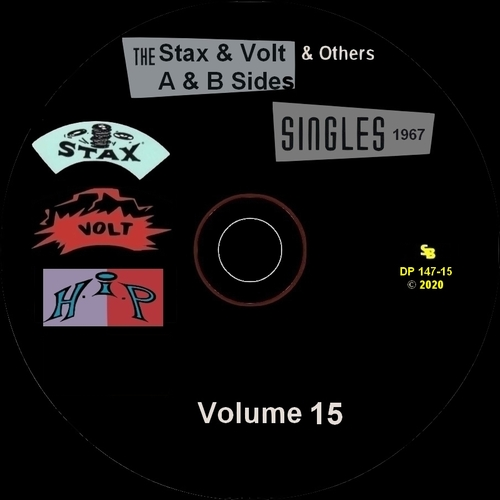 """"""" The Complete Stax-Volt Singles A & B Sides Vol. 15 Stax & Volt Records & Others """" SB Records DP 147-15 [ FR ]"""