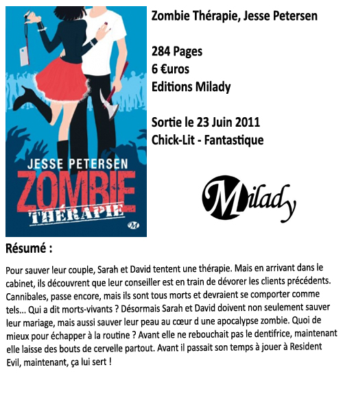 Zombie Therapie, Jesse Petersen