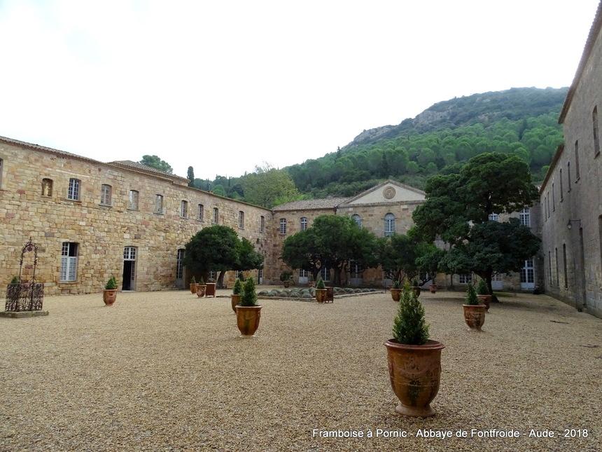 Abbaye de Fontfroide - Aude - 2018