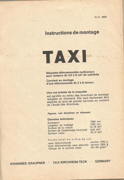 Le Taxi de 1968