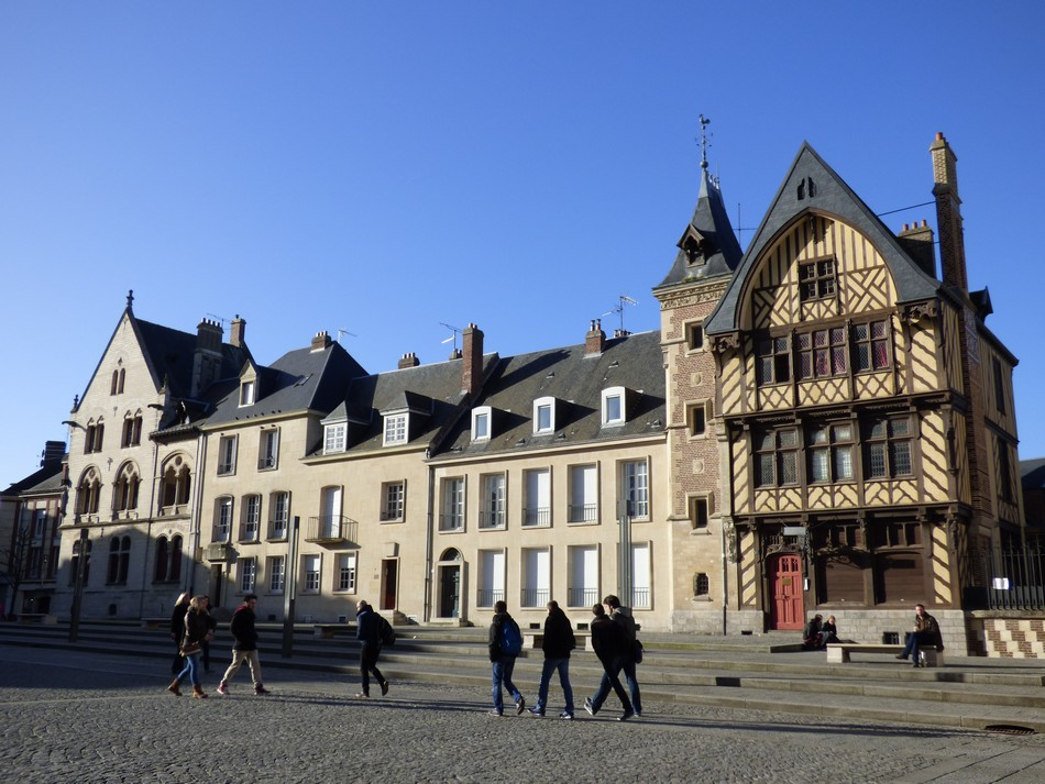 Le Parvis de la Cathédrale d'Amiens