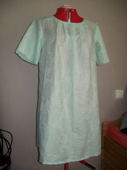 Robe courte ou tunique en lin