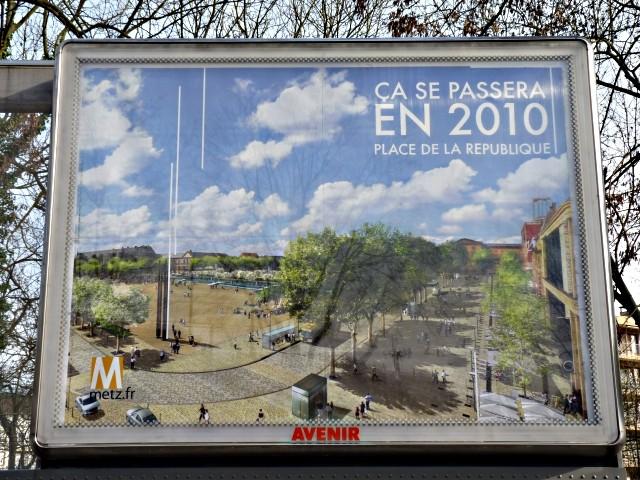 Place de la République 2010 à Metz 1