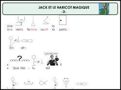 Littérature CE1: Jack et le haricot magique