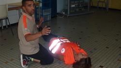 Les CM2 valident leur IPS avec la Croix Rouge
