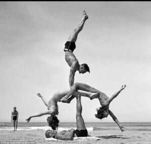 dance ballet russian ballet beach vintage