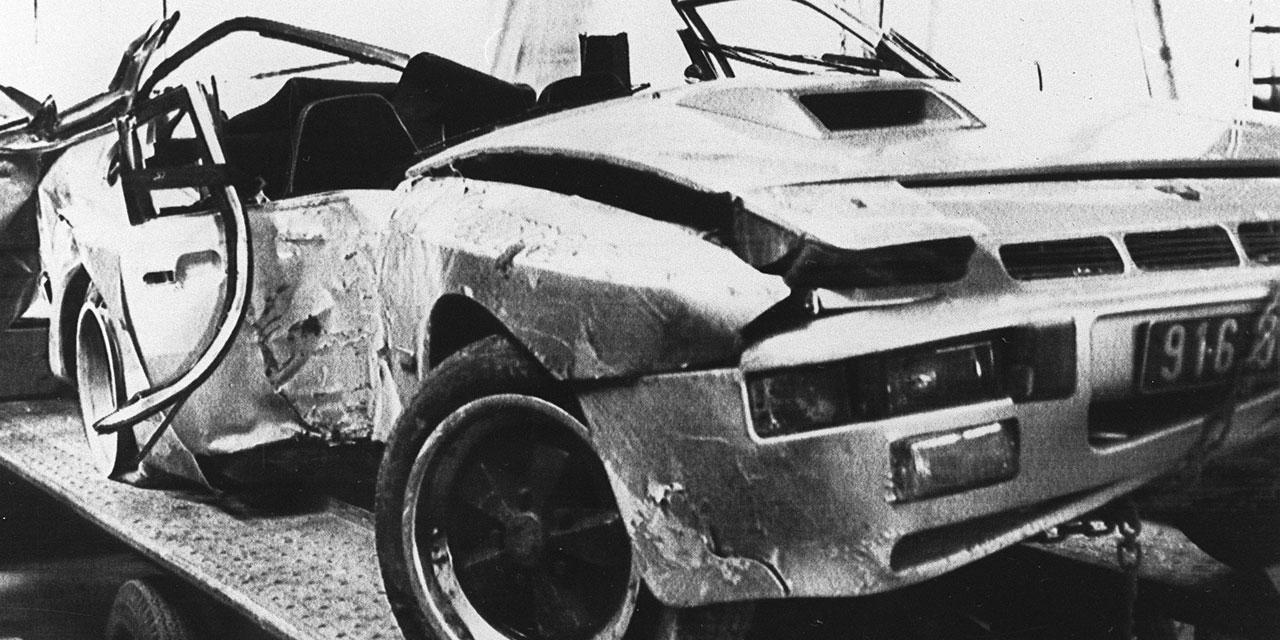 Le journal d'il y a 30 ans - Un accident de Voiture pour Chantal Nobel et Sacha  Distel
