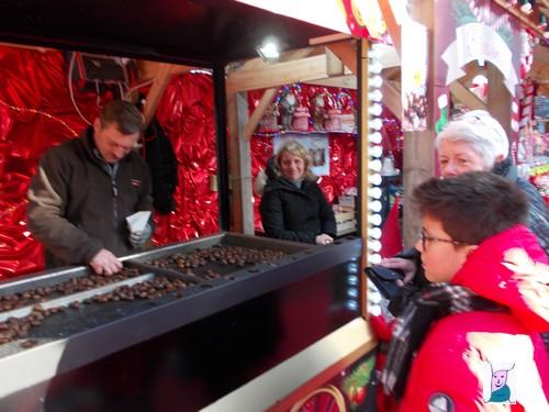 Ma balade au marché de Noël d'ARRAS.