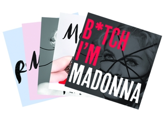 Madonna - rebel heart postcards