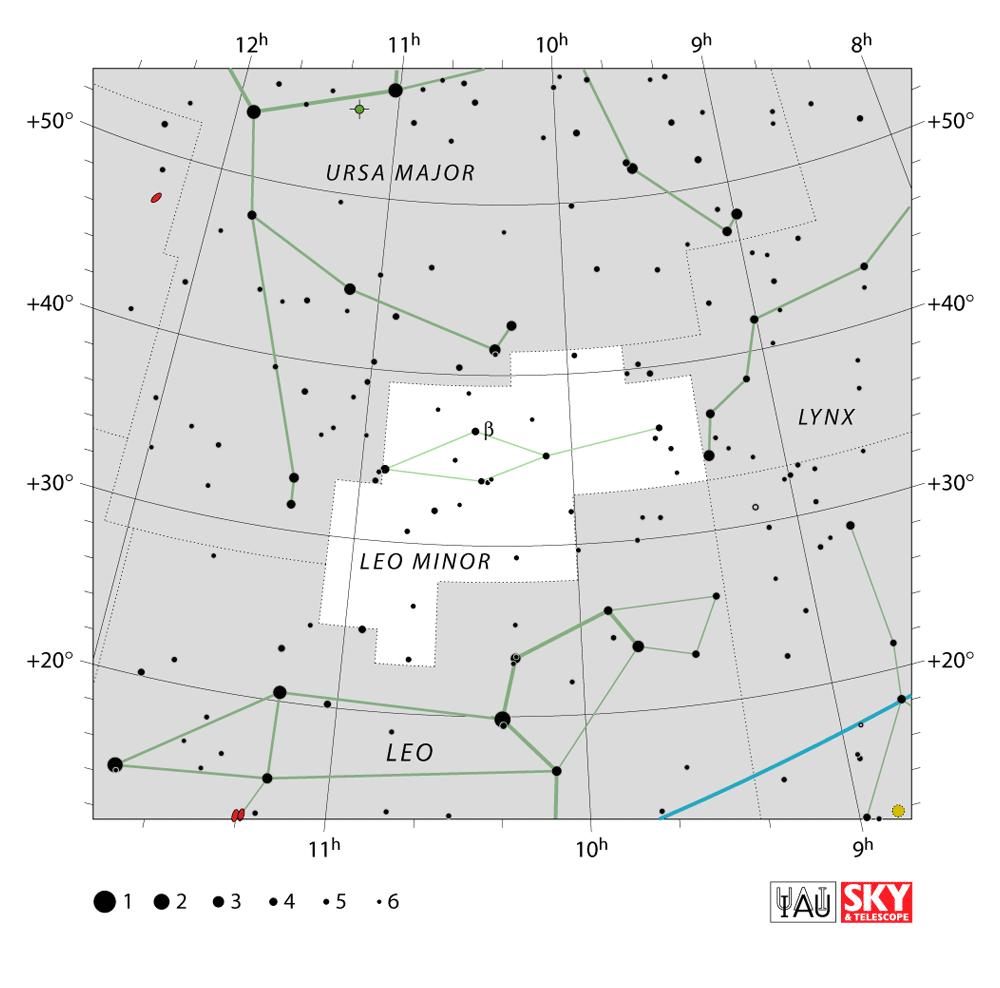 leo minor map