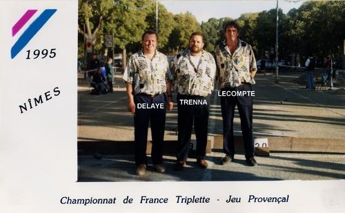 les qualifiés du 06 JP 3X3 de 1990 à 1999