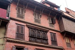 Bhaktapur, Népal (2015): habitat et scènes de vie