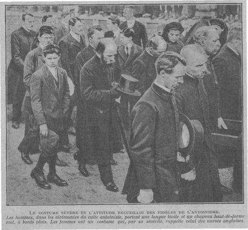 Costume et attitude (Sciences et Voyages, 1919)