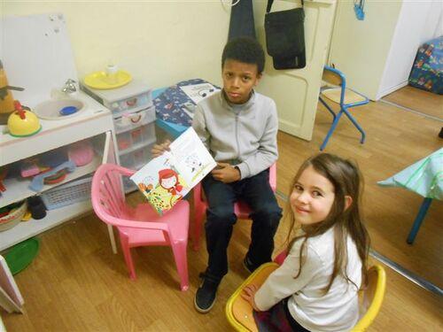 Tidiane et Maélys