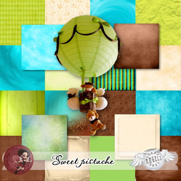 """""""Sweet Pistache"""" de Scrap'Angie"""
