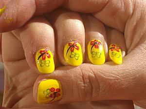 nail art vive l été 003