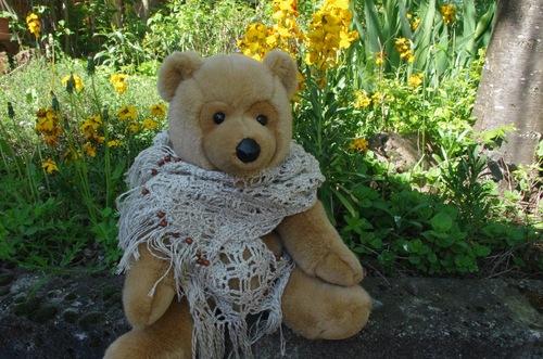 Echarpe estivale au crochet