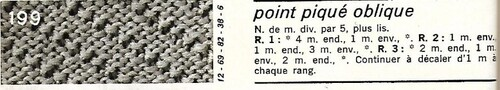 Quelques points tricot